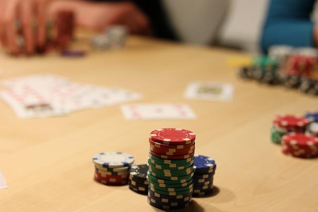 Poker Spieltisch